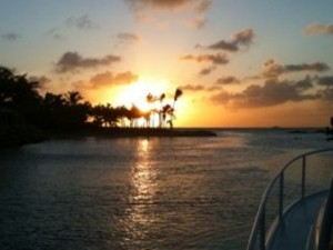 Take a boat trip to watch the most beautiful sunset in Curacao