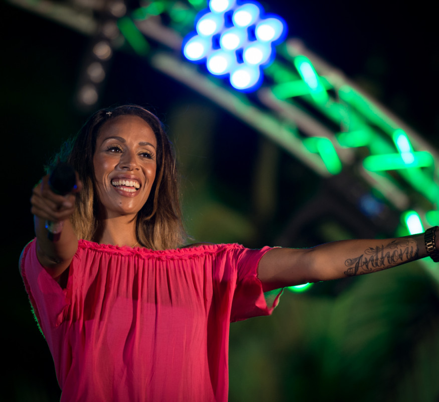 Glennis Grace gave the audience goosebumbs with the song Listen (Beyonce)