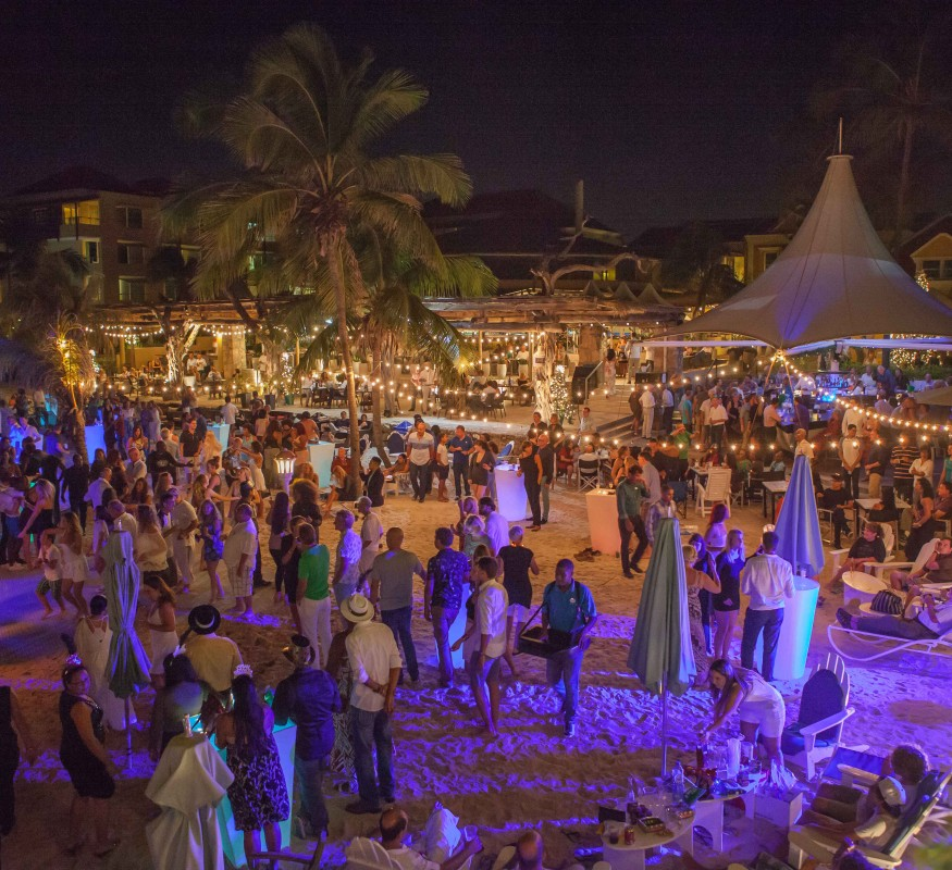 Avila's New Year's Eve event at the beach