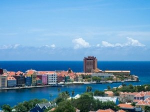 Book a hotel in a lively area such as Willemstad