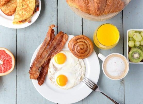 Frühstück auf Curacao
