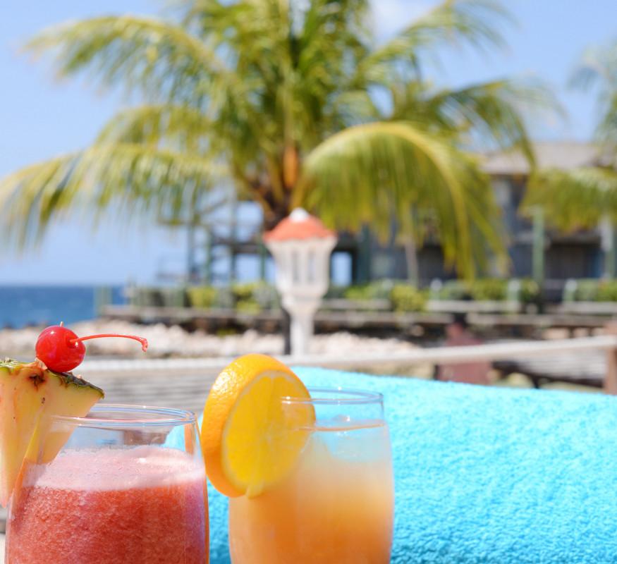 Uw cocktail met uitzicht