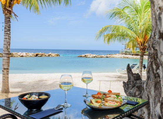 Lunch on Curacao