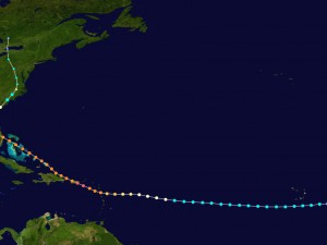 What is the hurricane belt?