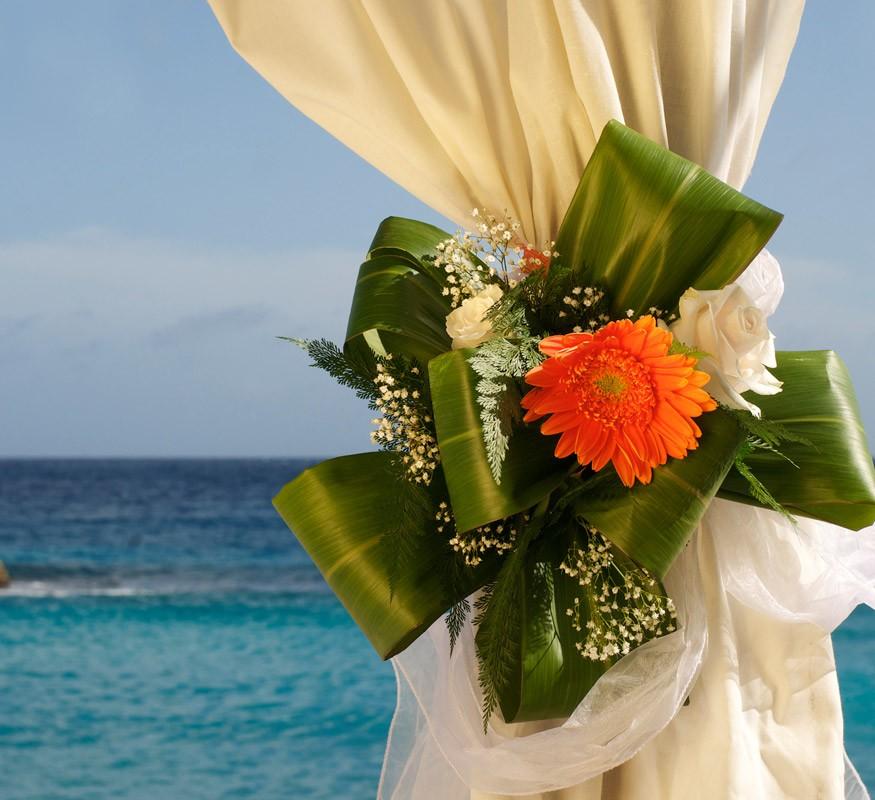Bloemen op uw bruiloft zien er hier nog mooier uit