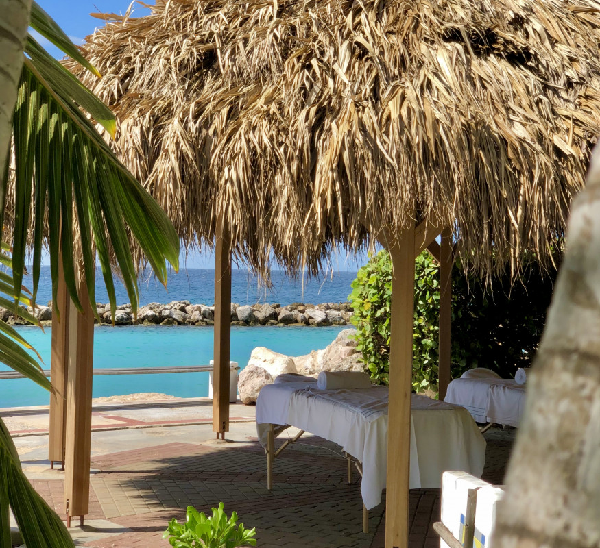 Santai Spa offers a massage with a view at the Avila Beach Hotel