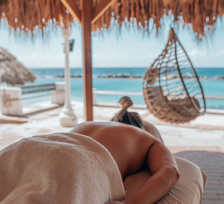 Cloud Nine Spa biedt een massage met uitzicht bij het Avila Beach Hotel