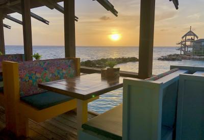 Der schönste Sonnenuntergang auf Curacao