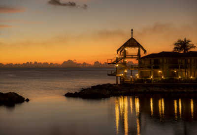 The most beautiful sunset on Curacao