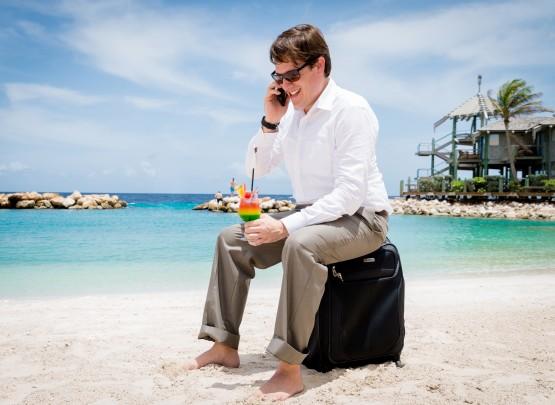 Ongeveer een derde van onze hotelgasten is een zakelijke reiziger.