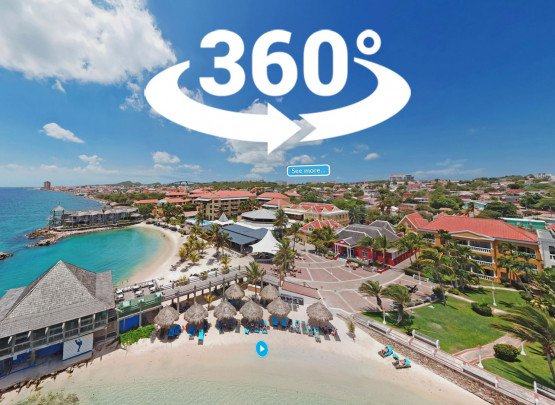 Avila Beach Hotel Curacao, virtuelle 360° -Tour