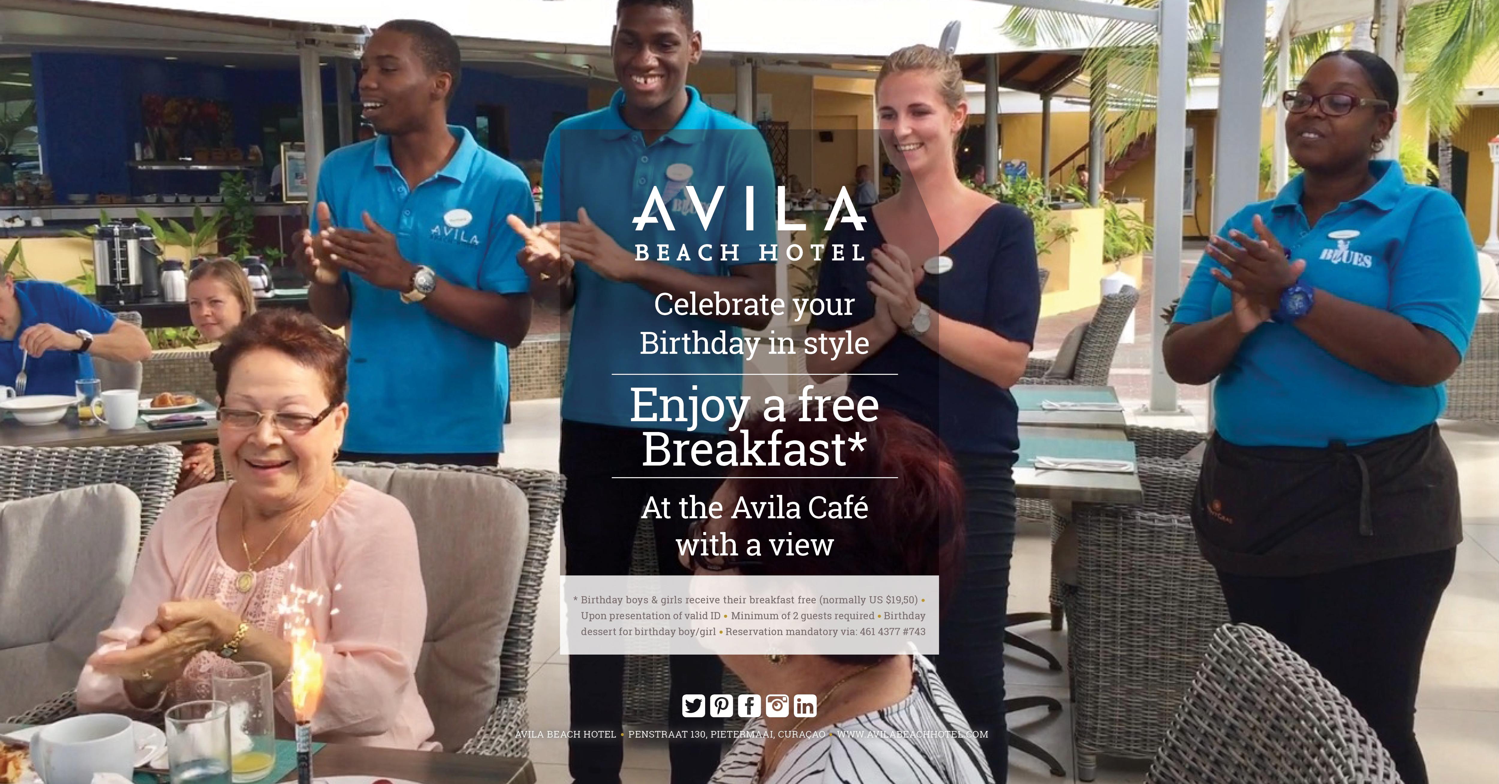 Avila Cafe Avila Beach Hotel Curacao
