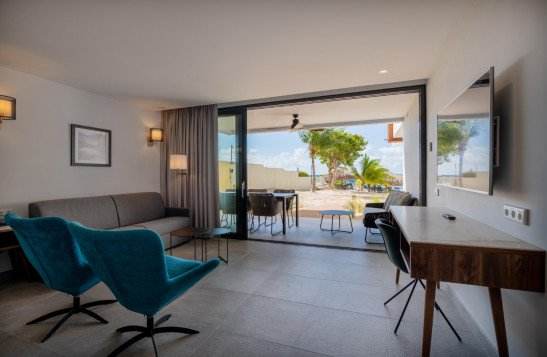 Beachfront 3-kamerappartement